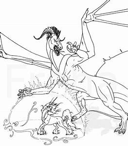 Dragon vs Unicorn by Freha on DeviantArt