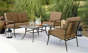 Garden Oasis Emery 4Pc Cushion Seating Set* Limited ...
