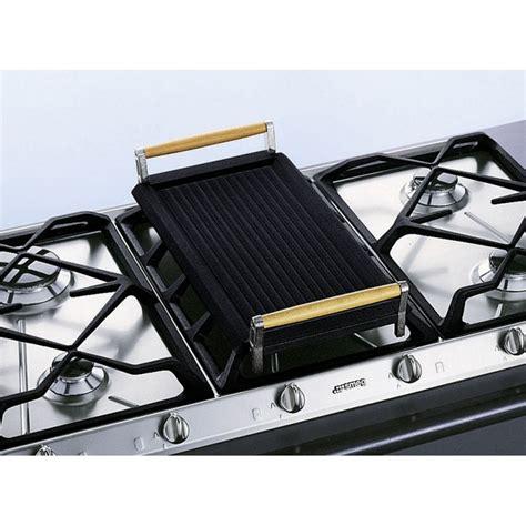 mitigeurs cuisine smeg bb3679 grill de viande en fonte pour tables de