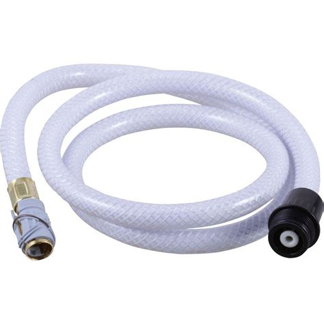 delta quick connect vegetable spray hose assembly  black