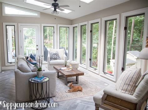 Sunroom Remodel Ideas by Sun Room Ideas Sun Room Reveal Design Sippy Cups And