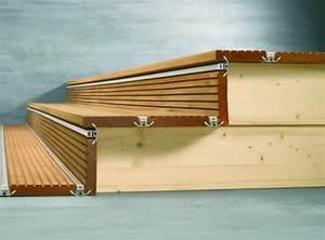 Holztreppe Außen Selber Bauen : alpha wing verlegesystem nicht nur f r terrasse und balkon auch treppe flachdach garten ~ Buech-reservation.com Haus und Dekorationen