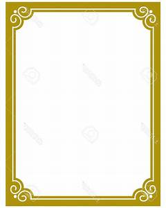 Best Free Simple Gold Frame Border Vector Photos - Vector ...