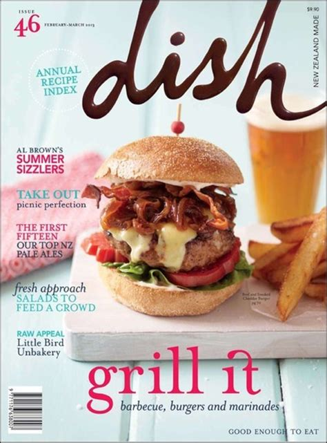 magazines cuisine dish magazine cover no 46 food magazine covers