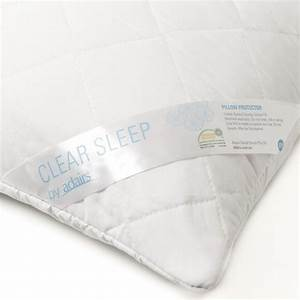 clear sleep cotton quilted european pillow protector With european pillow protector