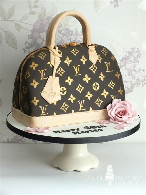 louis vuitton handbag louise jackson cake design