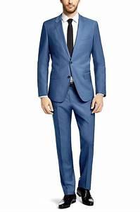 Blauer Anzug Schuhe : slim fit anzug huge3 genius2 aus schurwolle blau herren hochzeitsoutfit pinterest slim ~ Frokenaadalensverden.com Haus und Dekorationen