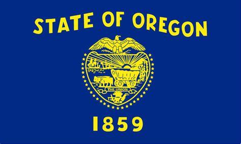 flag  oregon state symbols usa