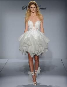 pnina tornai short wedding gowns wedding ideas With kleinfeld short wedding dresses