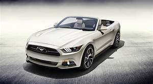 Only Drop-Top 2015 Ford Mustang 50th Anniversary Will Be Raffled for Charity - autoevolution