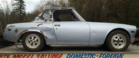 Datsun Roadster Hardtop by 1970 Datsun Roadster Spl311 Shell Hardtop Silver