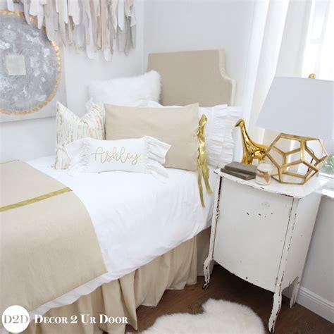 pink and grey bedding sets metallic gold speck bedding set