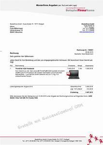 Kfz Reparatur Steuer Absetzen : rechnung schreiben schnell und einfach f r ms office anwender successcontrol ~ Yasmunasinghe.com Haus und Dekorationen