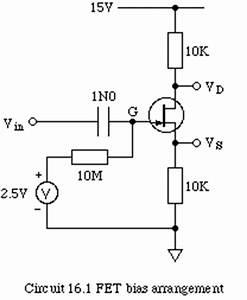 phy2028 spice simulations of fet circuits With fet biasing