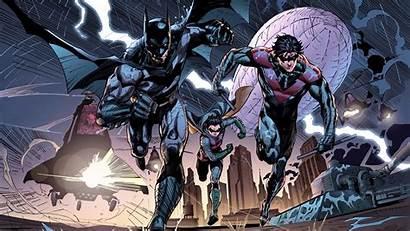 Nightwing Batman Dc Robin Bat Wallpapers Comics