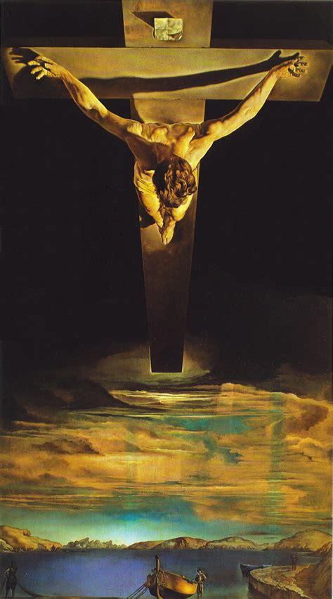 Résultat d'images pour salvador dali crucifixtion