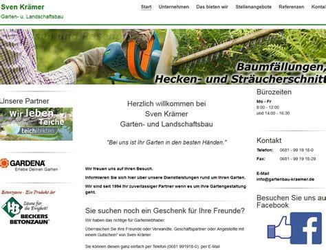 Sedlmeier Garten Landschaftsbau Bad Essen by Garten Und Landschaftsbau Sven Kr 228 Mer In Saarbr 252 Cken