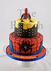 Gateau Anniversaire 2 Ans Garçon : cake for boys spiderman gateau d 39 anniversaire pour enfants garcon spiderman verjaardagstaart ~ Melissatoandfro.com Idées de Décoration