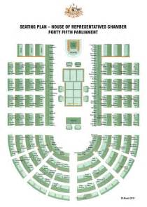 2017 House of Representatives Seating Plan