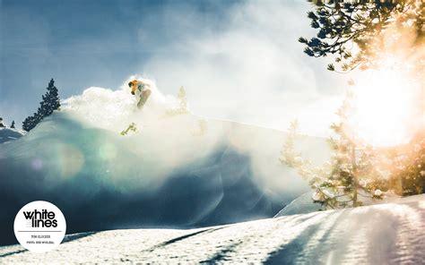 Snowboard Wallpaper  Tom Klocker Powder Ollie Whi