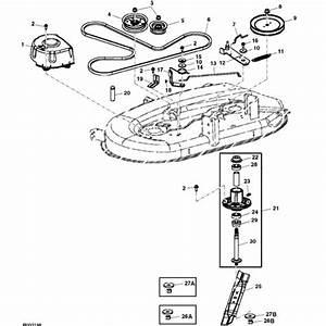 John Deere Mower Parts Diagram
