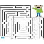 Maze Grid Clipart Transparent Webstockreview Childrens Printable
