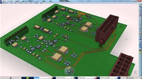 Catia Electronics Circuit Board Design Pcb