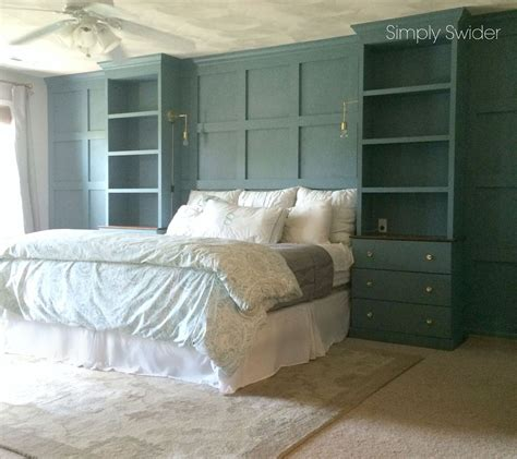 Diy Master Bedroom Builtins Hometalk