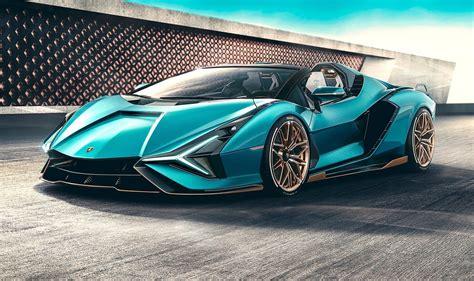 Lamborghini Sian Roadster revealed, most powerful drop-top ...