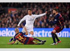 Crazy Fights of Cristiano Ronaldo vs Barcelona Video