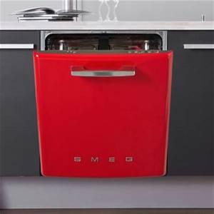 Lave Vaisselle Retro : lave vaisselle smeg boulanger ~ Teatrodelosmanantiales.com Idées de Décoration