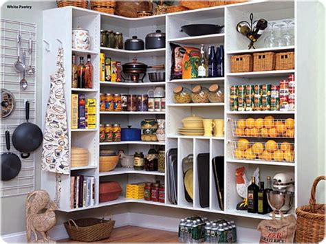 Kitchen Pantry Storage Vertical Design