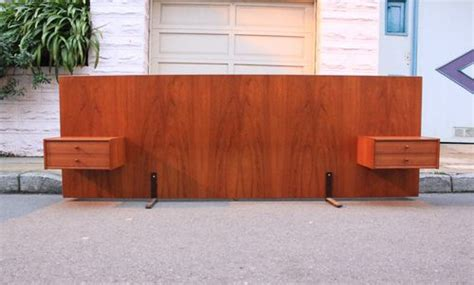 Nightstand With L Attached by Teak Headboard With Built In Nightstands Like What We