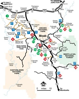 Moab Utah ATV Trail Maps