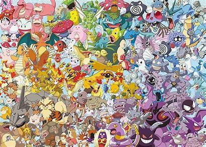 Pokemon Puzzle Ravensburger Puzzles Jigsaw Challenge Pieces
