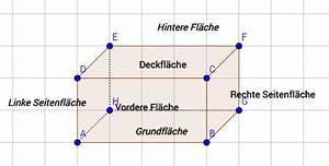 Volumen Quader Berechnen : quader fl che und volumen berechnen online kurse ~ Themetempest.com Abrechnung