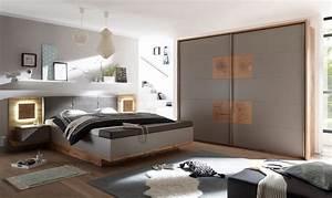 Schlafzimmer Komplett Set 4 tlg CAPRI XL Bett 180
