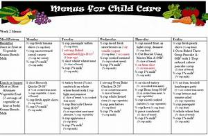 pin cacfp weekly menu planning doc on pinterest With cacfp menu template
