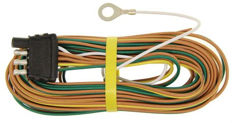 Wishbone Wire Harnes by 20 Ft Wishbone 4 Way Trailer Wiring Harness With 30