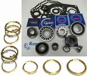 W58 W59 Transmission Rebuild Kit With Synchro Rings Fits
