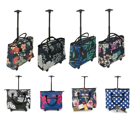 cabin bags on wheels lightweight wheeled shopping tote cabin bag trolley