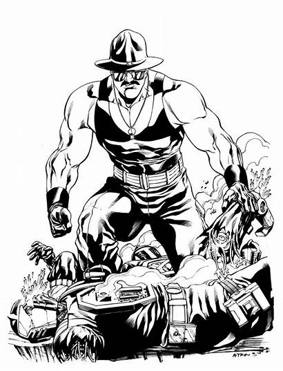 Joe Gi Slaughter Sgt Atkins Robert Sketch