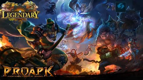 Legendary 5v5 Moba Gameplay Ios / Android