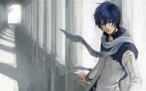 Blue Haired Anime Boy Wallpaper - anime boys wallpapers wallpaper cave