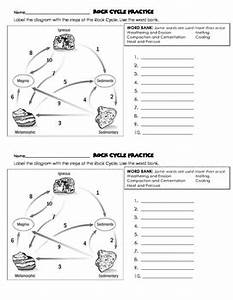 Rock Cycle Quiz With Answer Key And Practice Worksheets By