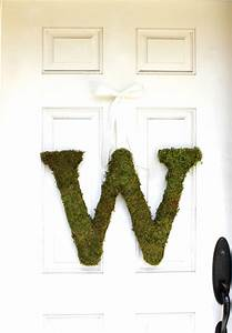 moss letters for weddings the magnolia company With moss letters