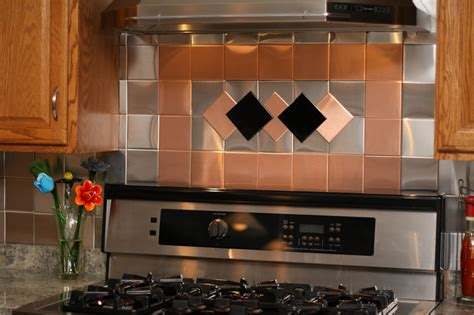 self adhesive kitchen backsplash tiles 24 decorative self adhesive kitchen metal wall tiles 3 sq