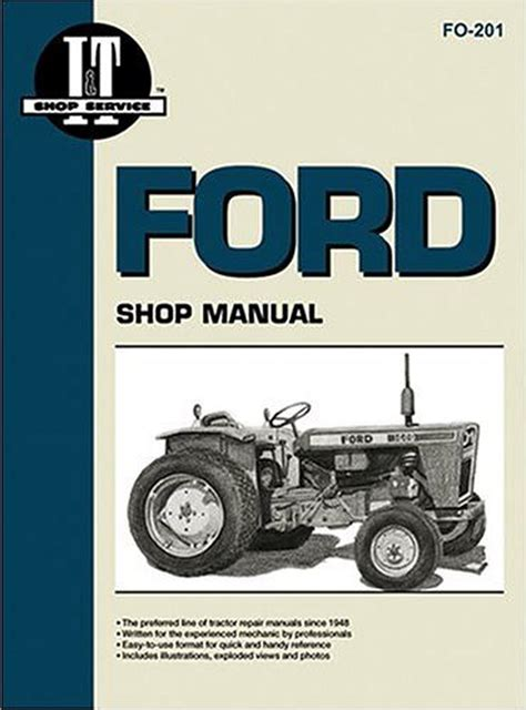 ford tractor  manual full version  software