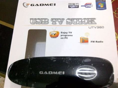 Tv Tuner Gadmei Utv 380 Usb 2 0 jual tv tuner usb stick gadmei utv 380 hybrid dvb fm di
