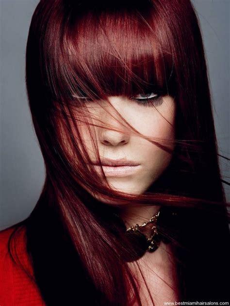 Black Hair Dye With Red Tint Dark Hair Colors Cute